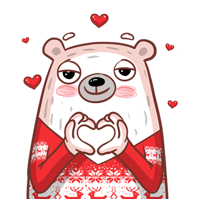 Pampu Love stickers messages sticker-3