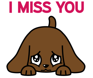 Miss Muddy Puppy Animated Stickers messages sticker-2