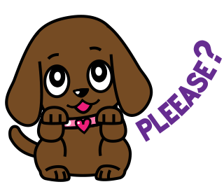 Miss Muddy Puppy Animated Stickers messages sticker-5
