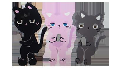 Hello Cat messages sticker-11
