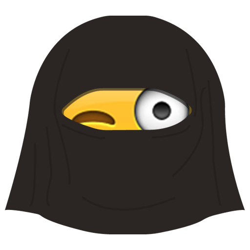 Burka Emoji messages sticker-7