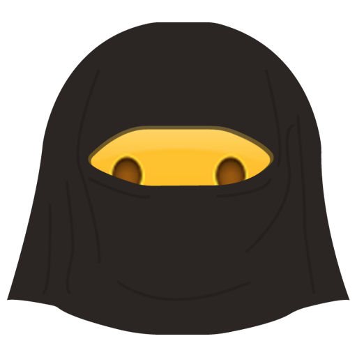 Burka Emoji messages sticker-9