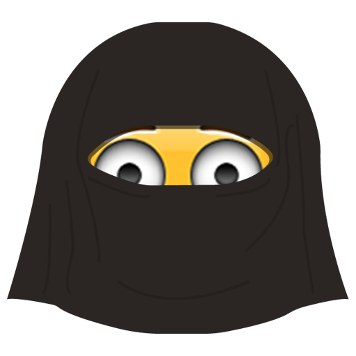 Burka Emoji messages sticker-10