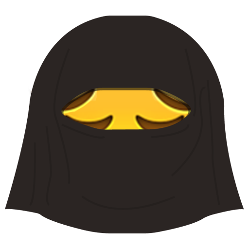 Burka Emoji messages sticker-11