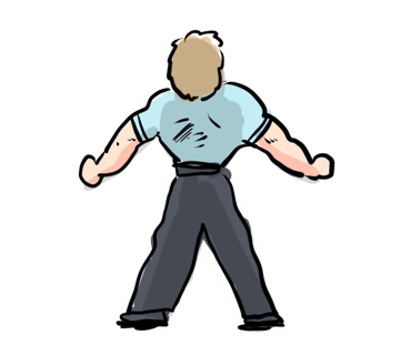 Fitness Man Color messages sticker-2
