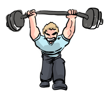 Fitness Man Color messages sticker-8