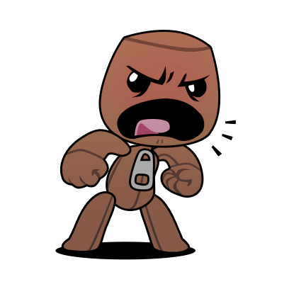 LittleBigPlanet™ Stickers messages sticker-2