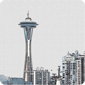 Seattle Stickies for iMessage messages sticker-0