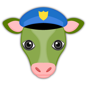 Saint Patrick Cow Lover Stickers messages sticker-5