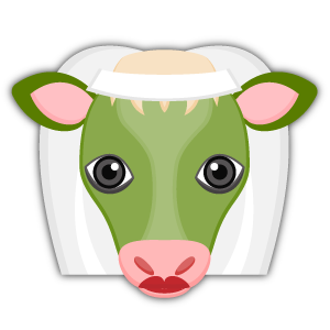 Saint Patrick Cow Lover Stickers messages sticker-1