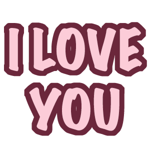 Love and Hearts Stickers messages sticker-6