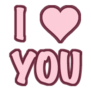 Love and Hearts Stickers messages sticker-9