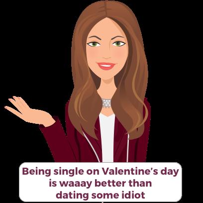 Valentine's/Galentine's Day girl-talk stickers (K) messages sticker-7