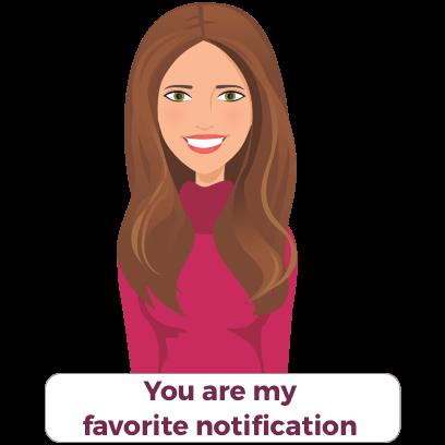 Valentine's/Galentine's Day girl-talk stickers (K) messages sticker-4