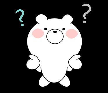 Bear message messages sticker-7