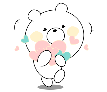 Bear message messages sticker-10
