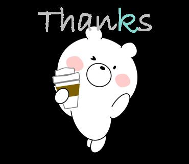 Bear message messages sticker-0