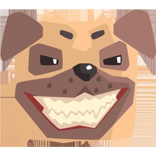 Pug Emoji And Stickers messages sticker-4