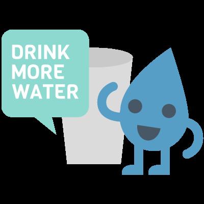 Water Reminder - Drink Water Tracker & Daily Alert messages sticker-2
