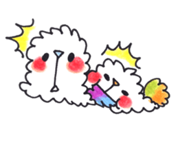 Lovely Pair Of Dogs Stickers messages sticker-4
