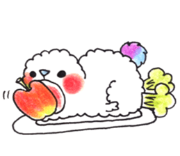 Lovely Pair Of Dogs Stickers messages sticker-2