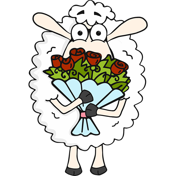 Morris the Sheep Valentine's Day messages sticker-3