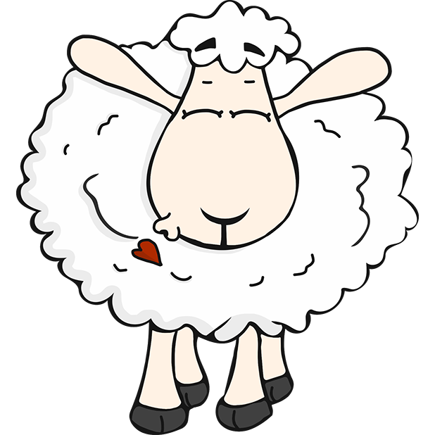 Morris the Sheep Valentine's Day messages sticker-5