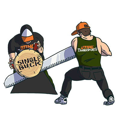 STIHL TIMBERSPORTS Stickers messages sticker-10