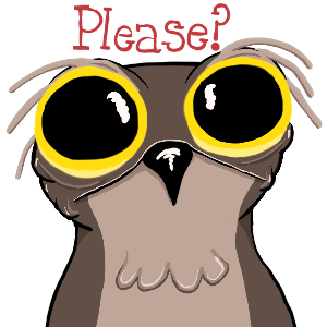 Potoo Bird Sticker Pack messages sticker-4