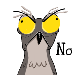 Potoo Bird Sticker Pack messages sticker-1