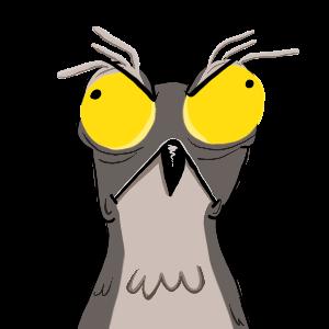 Potoo Bird Sticker Pack messages sticker-1