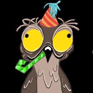 Potoo Bird Sticker Pack messages sticker-8