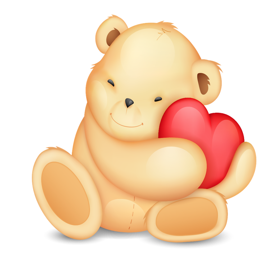 Valentine Bear Stickers messages sticker-8