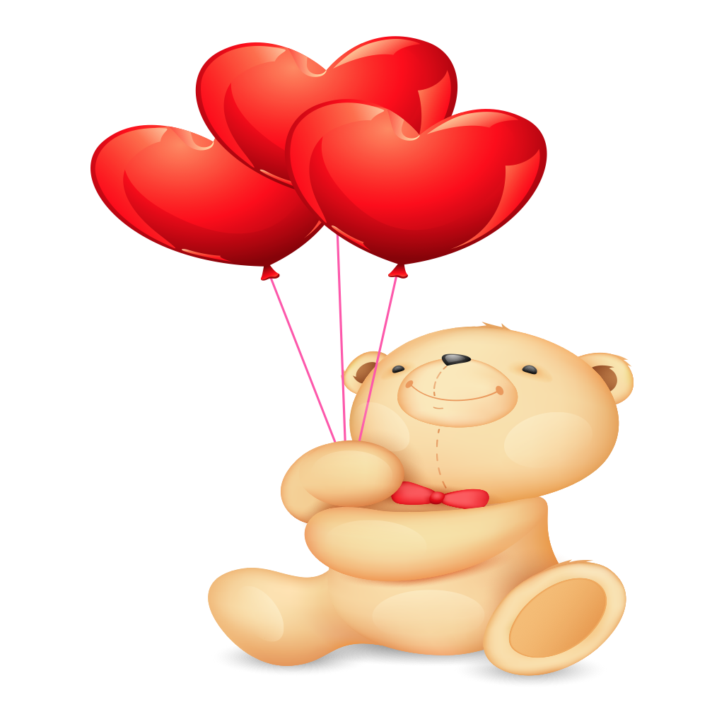 Valentine Bear Stickers messages sticker-0