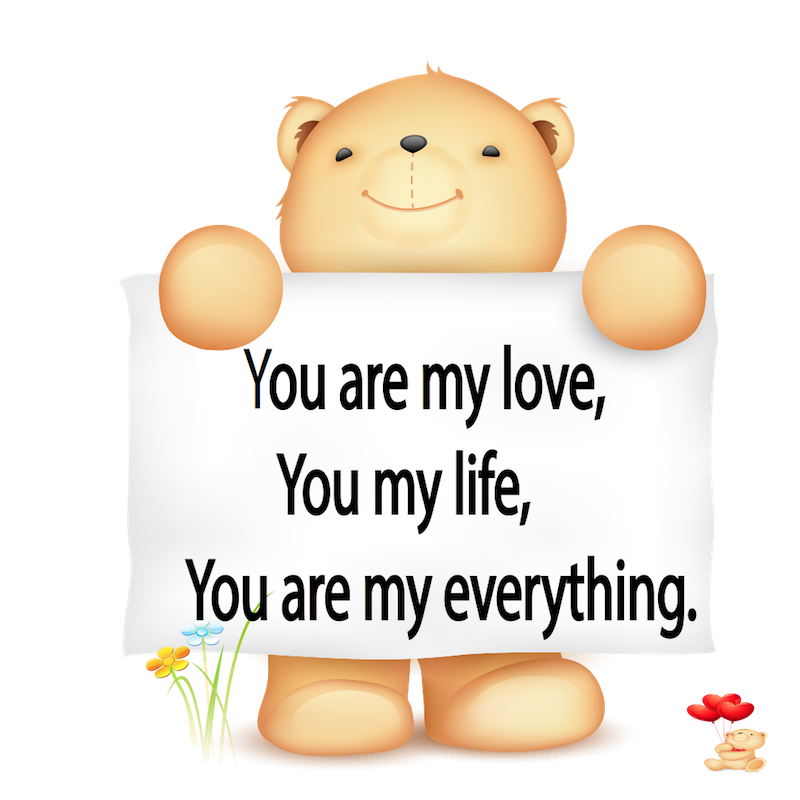 Valentine Bear Stickers messages sticker-3