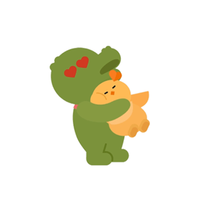 Crocodile Loves Plover messages sticker-4