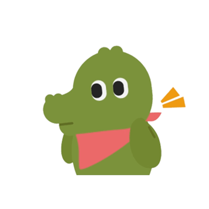 Crocodile Loves Plover messages sticker-11
