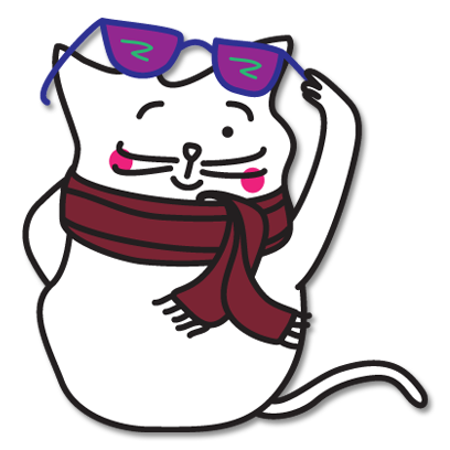 Rocket Cat Stickers messages sticker-9