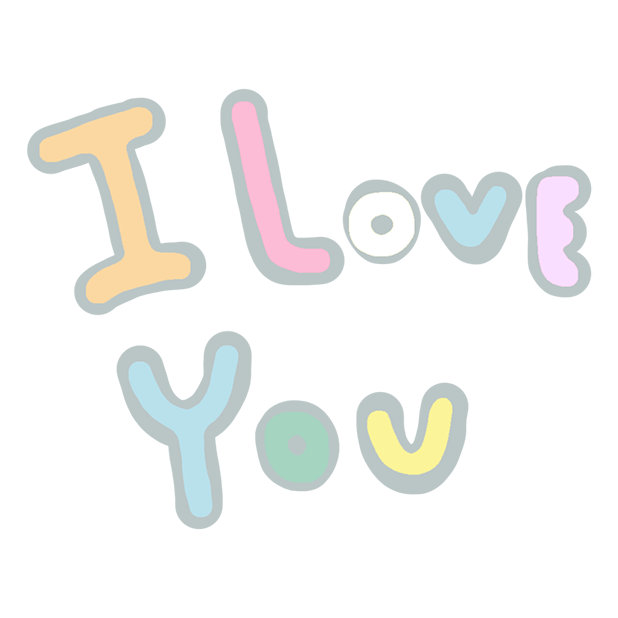 Pastel Love Stickers for Valentin's Day messages sticker-6