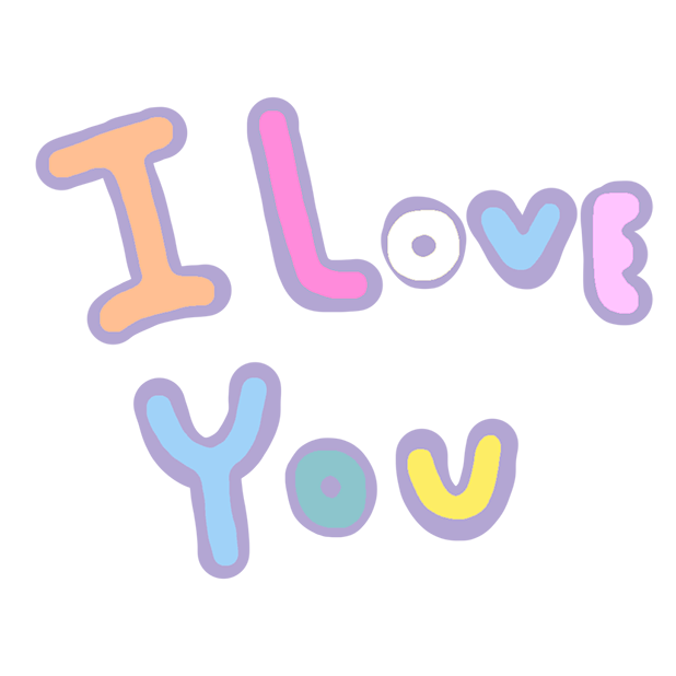 Pastel Love Stickers for Valentin's Day messages sticker-3