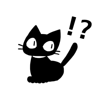kuro nyanko messages sticker-6