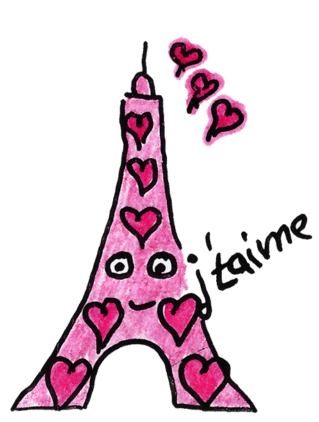 Eiffel-Sticker messages sticker-1