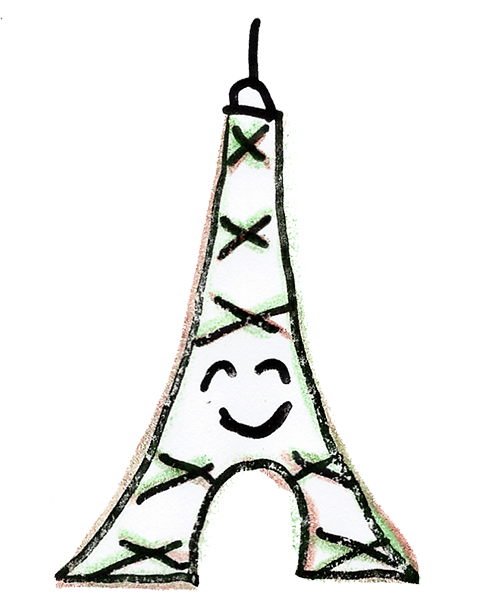 Eiffel-Sticker messages sticker-6