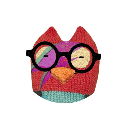 Hipster Owl – Say it cool messages sticker-10