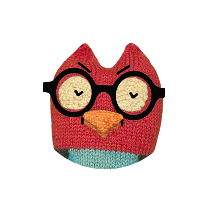 Hipster Owl – Say it cool messages sticker-6