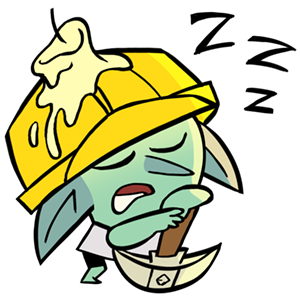 Dungeon, Inc.: Idle Clicker messages sticker-11