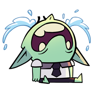 Dungeon, Inc.: Idle Clicker messages sticker-1
