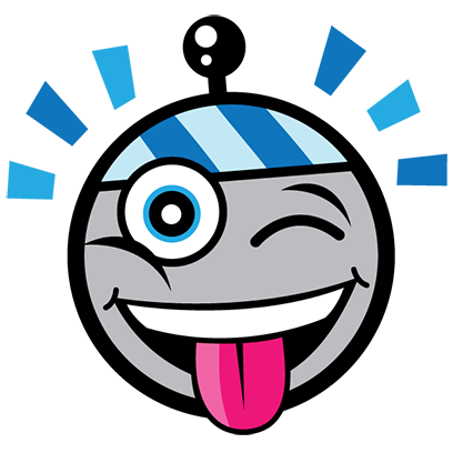 """""""Atom the Antenna 1.0"""" by TagStars.io™ messages sticker-2"""