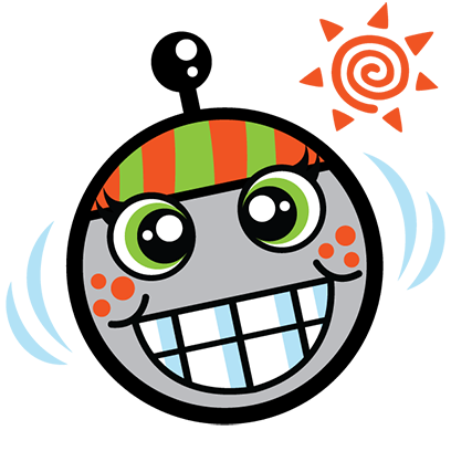 """""""Atom the Antenna 1.0"""" by TagStars.io™ messages sticker-0"""