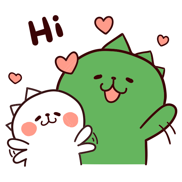 Dino Love stickers messages sticker-8